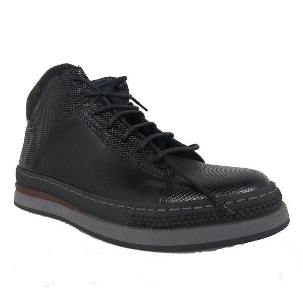 Raymont 634 Ανδρικό Μποτάκι Μαύρο 5