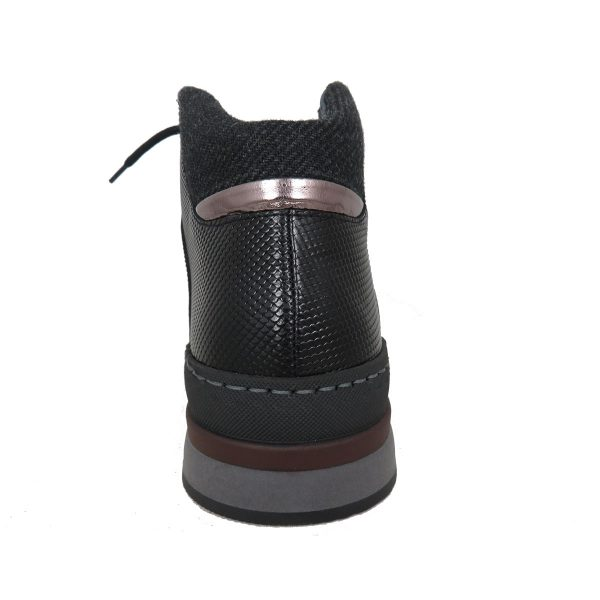 Raymont 634 Ανδρικό Μποτάκι Μαύρο 4