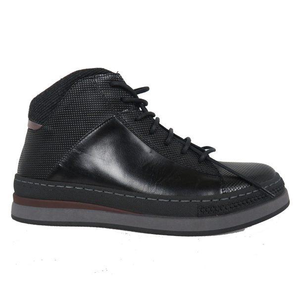 Raymont 634 Ανδρικό Μποτάκι Μαύρο 3