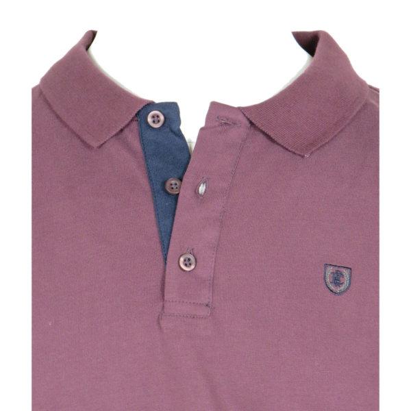 Pre End 22-100219 Ανδρικό Πόλο Μπλουζάκι Μπορντό 4