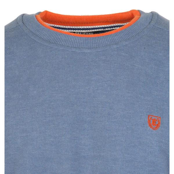 Pre End 22-100246 Ανδρικό Μπλουζάκι Μπλέ Της Θάλασσας 4