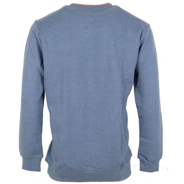 Pre End 22-100246 Ανδρικό Μπλουζάκι Μπλέ Της Θάλασσας 5