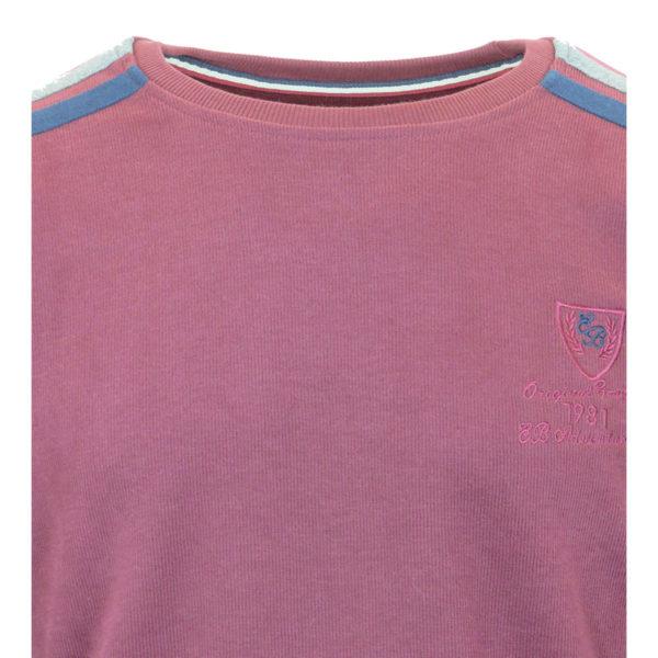 Everbest FW 1663 Ανδρικό Μπλουζάκι Μπορντό 5
