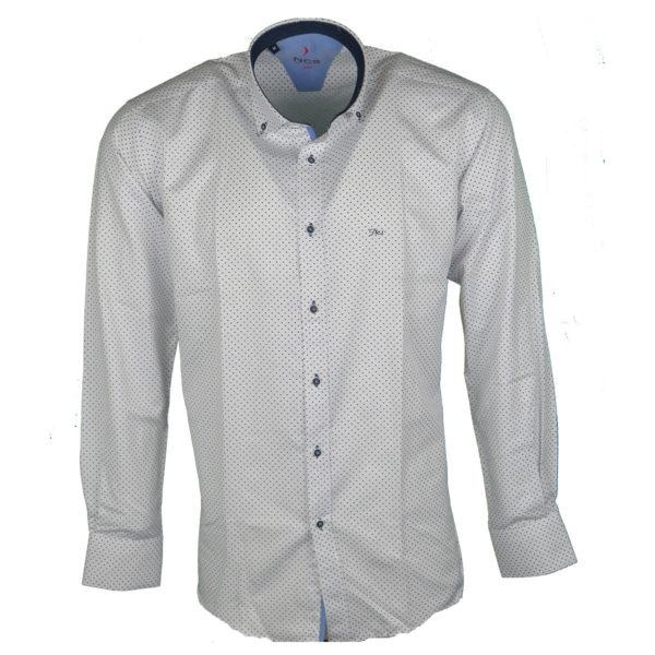 NCS 0006-0104 Ανδρικό Πουκάμισο Λευκό 3