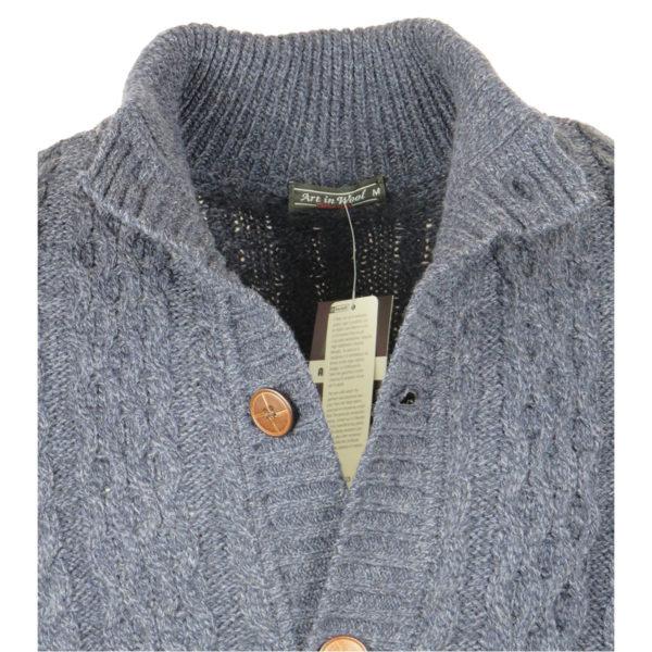 Art In Wool 000504 Ανδρική Ζακέτα Ίντιγκο 6