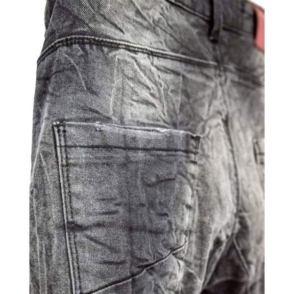 Profil 2038 Ανδρικό Παντελόνι Τζίν Μαύρο 5