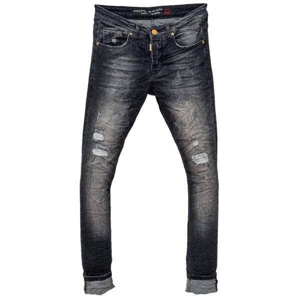 Profil 5017 Ανδρικό Παντελόνι Μαύρο 3