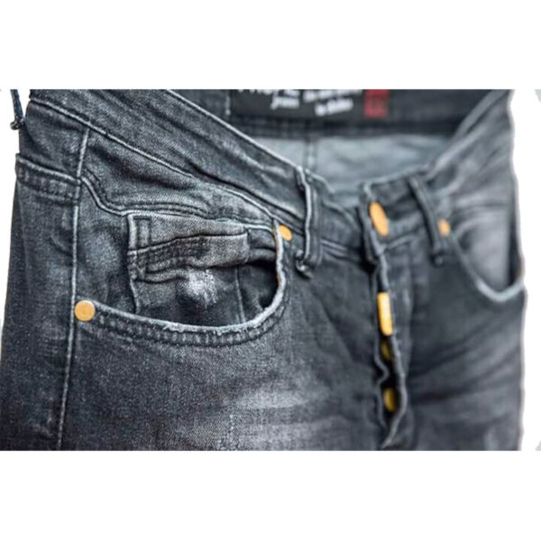 Profil 5017 Ανδρικό Παντελόνι Μαύρο 4