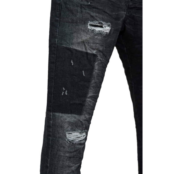 Profil 5018 Ανδρικό Παντελόνι Μαύρο 4