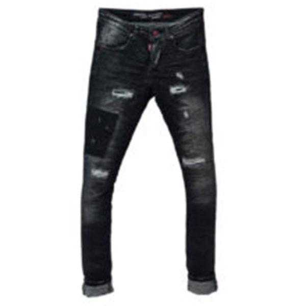 Profil 5018 Ανδρικό Παντελόνι Μαύρο 3