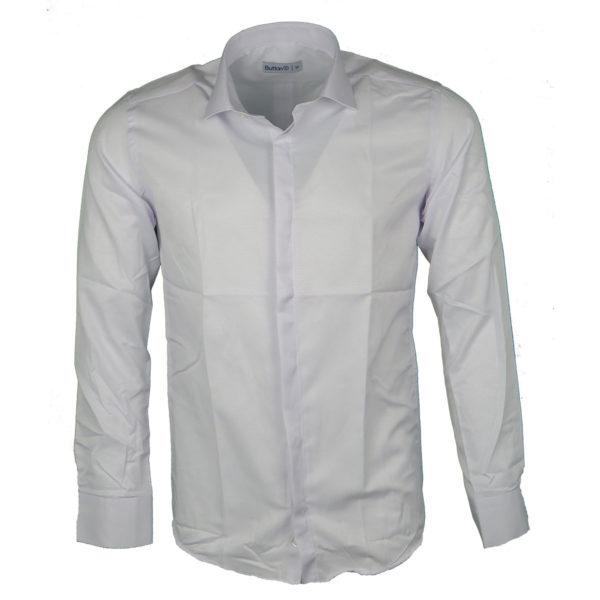 Button M-10 Ανδρικό Πουκάμισο Λευκό 3