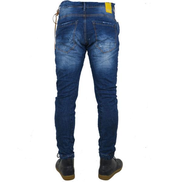 Back 2 Jeans Β6G Ανδρικό Τζήν Παντελόνι Μπλέ 6