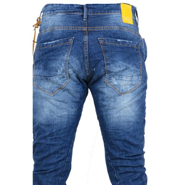 Back 2 Jeans Β6G Ανδρικό Τζήν Παντελόνι Μπλέ 7