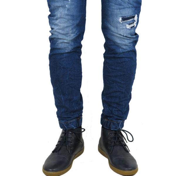 Back 2 Jeans Β6G Ανδρικό Τζήν Παντελόνι Μπλέ 4