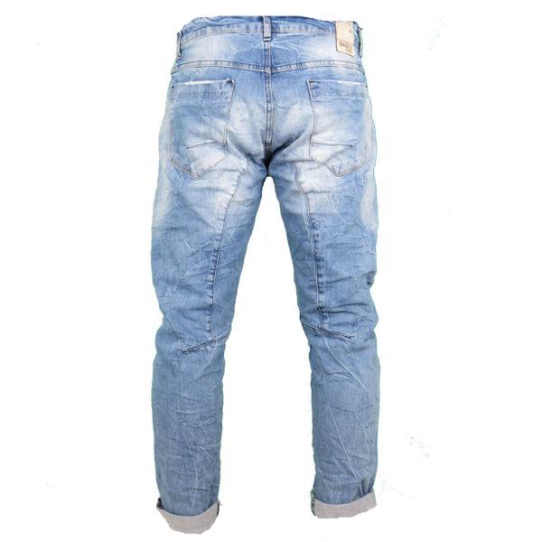 Back 2 Jeans Β4 Slim Ανδρικό Τζίν Παντελόνι Μπλέ 4
