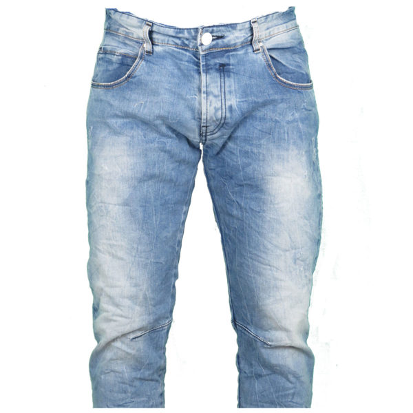 Back 2 Jeans Β4 Slim Ανδρικό Τζίν Παντελόνι Μπλέ 5