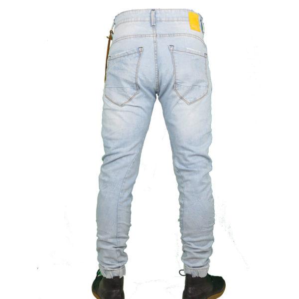 Back 2 Jeans B6 F Ανδρικό Τζήν Παντελόνι Μπλέ 6
