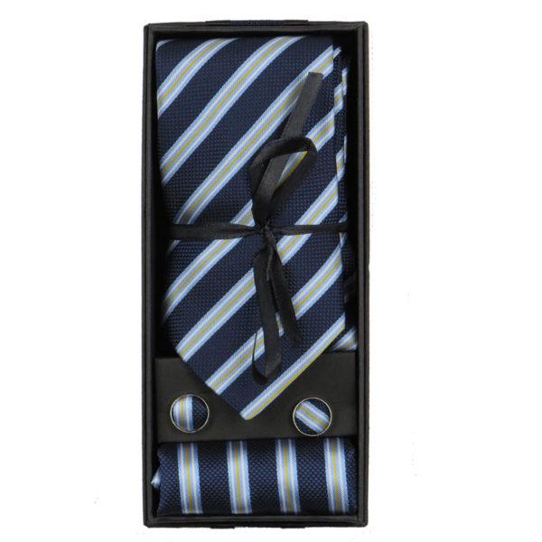 Privato 000 Aνδρική Γραβάτα Μπλέ 3