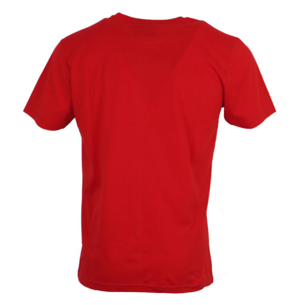 Cotton 4All 714 Ανδρικό Μπλουζάκι Κόκκινο 4