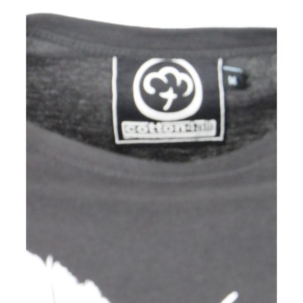 Cotton 4All 19-706 Ανδρικό Μπλουζάκι Μαύρο 5