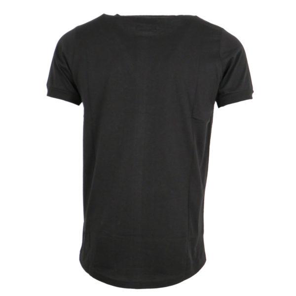 Cotton 4All 727 Ανδρικό Μπλουζάκι Μαύρο 4