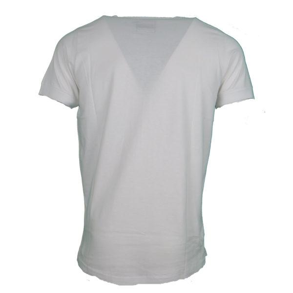 Cotton 4All 727 Ανδρικό Μπλουζάκι Λευκό 4