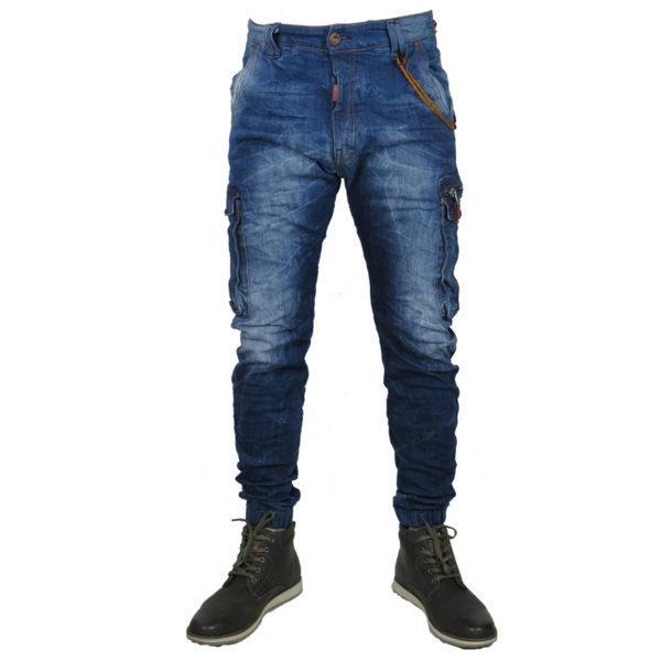 Back 2Jeans B12 Ανδρικό Τζίν Μπλέ 3