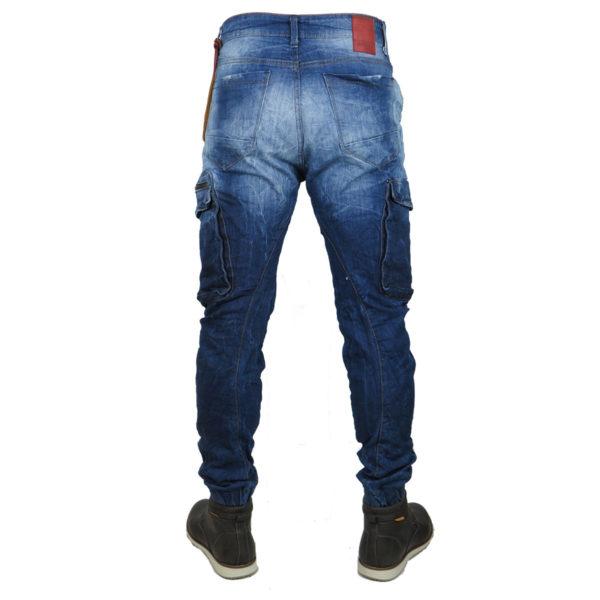 Back 2Jeans B12 Ανδρικό Τζίν Μπλέ 5