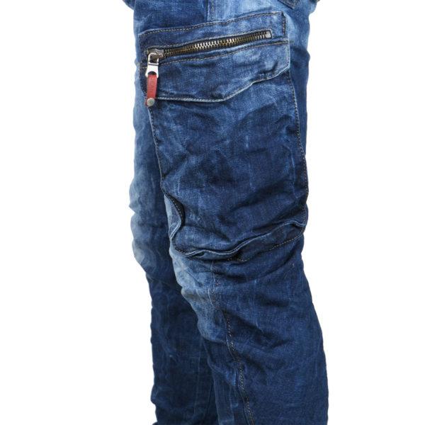 Back 2Jeans B12 Ανδρικό Τζίν Μπλέ 6