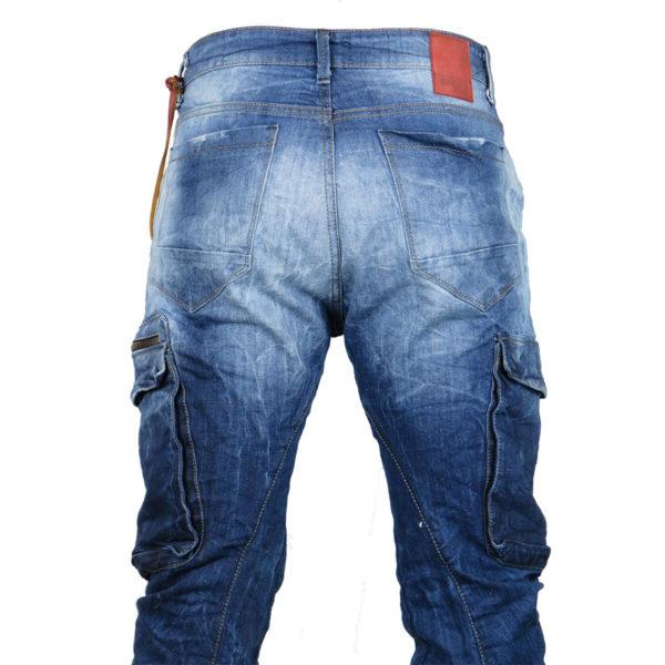 Back 2Jeans B12 Ανδρικό Τζίν Μπλέ 4