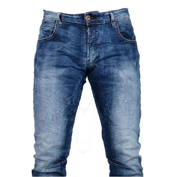 Back 2Jeans B10B Ανδρικό Τζίν Μπλέ 6