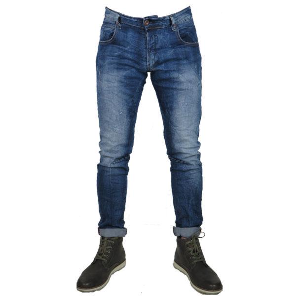Back 2Jeans B10B Ανδρικό Τζίν Μπλέ 7