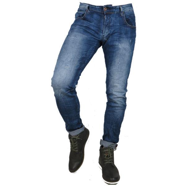 Back 2Jeans B10B Ανδρικό Τζίν Μπλέ 3