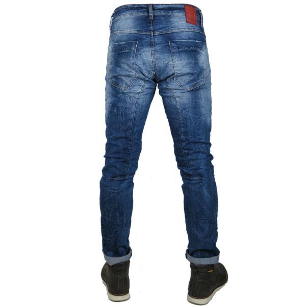 Back 2Jeans B10B Ανδρικό Τζίν Μπλέ 5