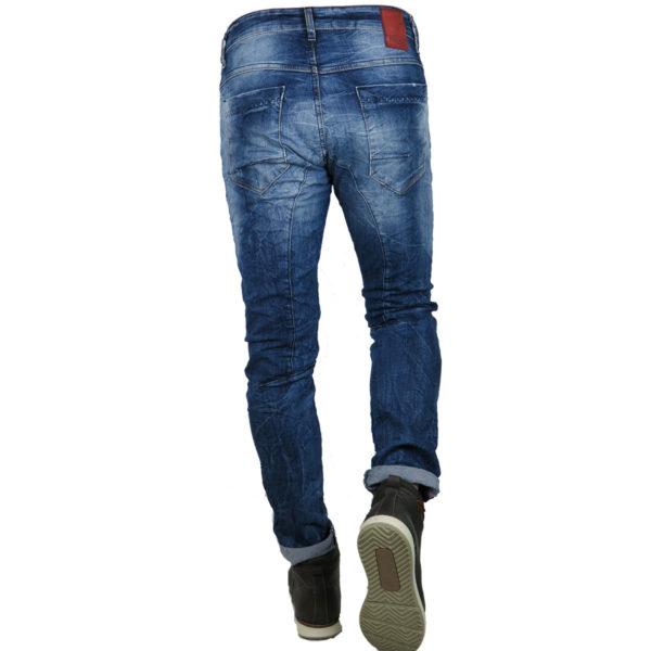 Back 2Jeans B10B Ανδρικό Τζίν Μπλέ 4