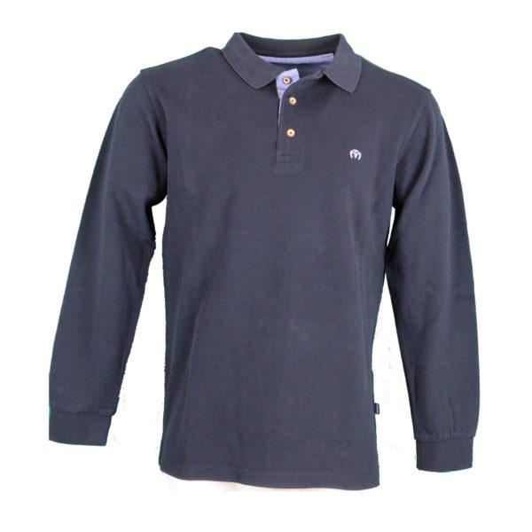 Makis Tselios BT244 Ανδρική Μπλούζα Μπλέ 3