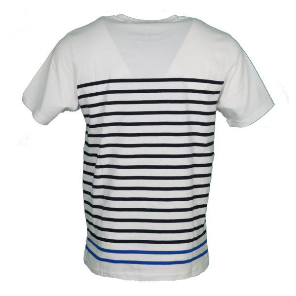 Pre End 28-100243 Ανδρικό Μπλουζάκι Λευκό 1001 4