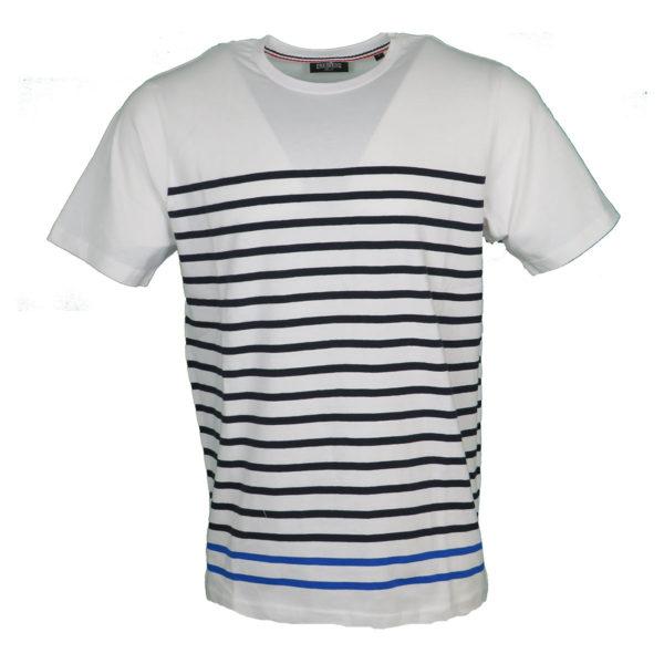 Pre End 28-100243 Ανδρικό Μπλουζάκι Λευκό 1001 3