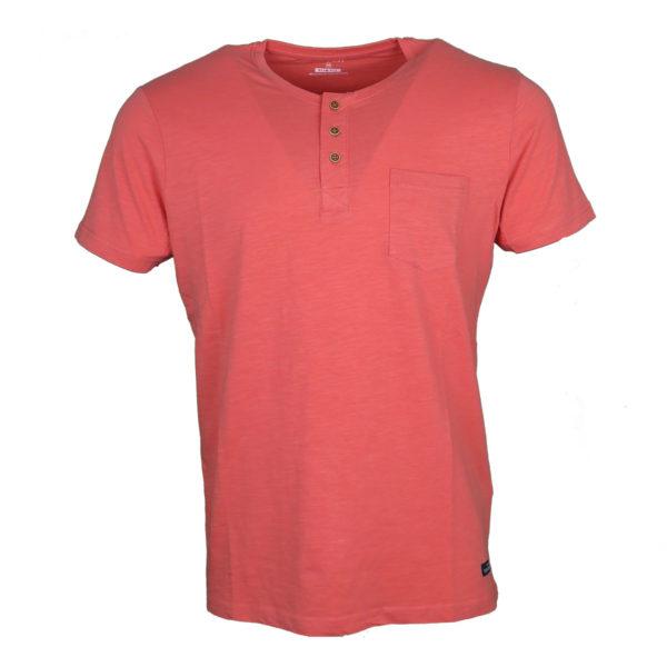 Tiffosi 15-10003068 Ανδρικό Μπλουζάκι Κοραλλί 3