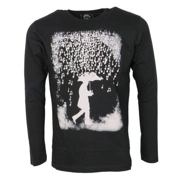 Cotton 4All 16-600 Ανδρικό Μπλουζάκι Μαύρο 3