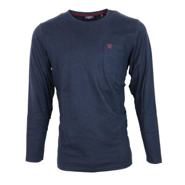 Pre End 28-100240 Ανδρικό Μπλουζάκι Μπλέ 3
