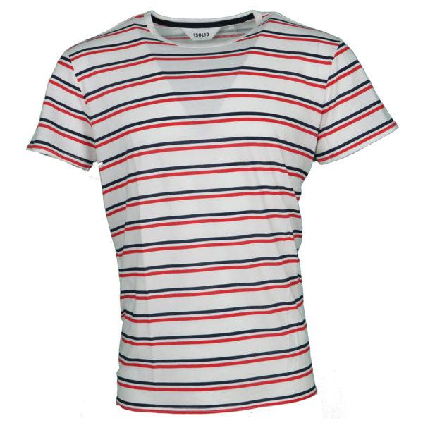 Solid 6184224 Ανδρική Μπλούζα Εκρού 3