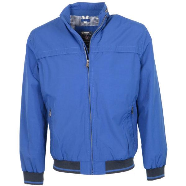 Blue Green 171405 Ανδρικό Μπουφάν Μπλέ Ρουά 3