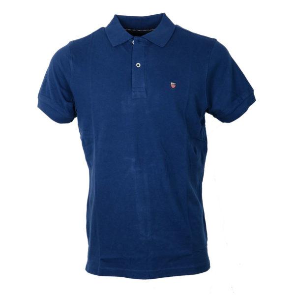 NEW YORK TAILORS 011.15 Basic Ανδρικό Μπλουζάκι Μπλέ Ρουά 3