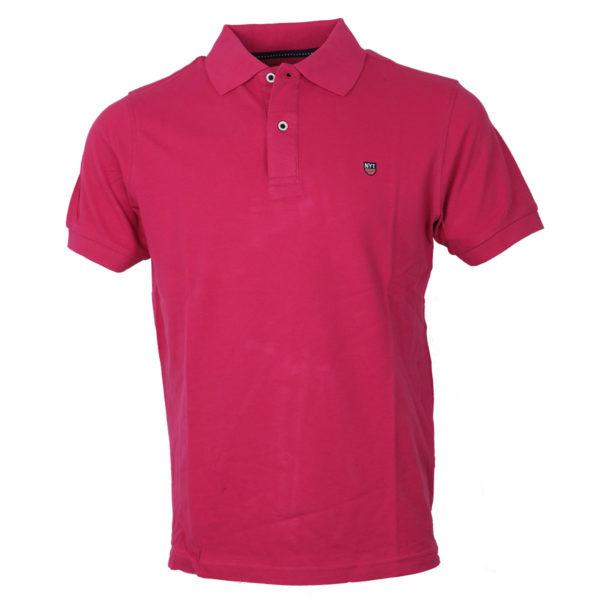 NEW YORK TAILORS 011.15 Basic Ανδρικό Μπλουζάκι Φούξια 3