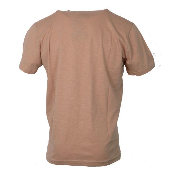 Cotton 4All 730 Ανδρικό Μπλουζάκι Σομόν 4
