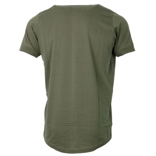 Cotton 4All 724 Ανδρικό Μπλουζάκι Λαδί 4