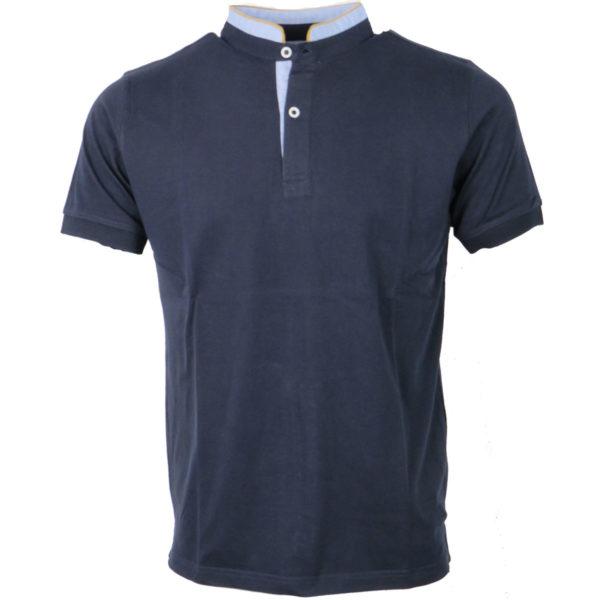 NEW YORK TAILORS 011.15 Bravos Ανδρικό Μπλουζάκι Μπλέ 3