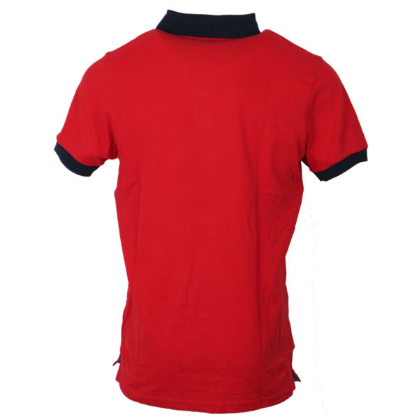 NEW YORK TAILORS 011.15 Point Ανδρικό Μπλουζάκι Κόκκινο 4