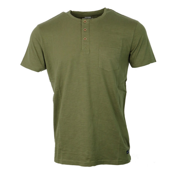 Tiffosi 15-10003068 890 Ανδρικό Μπλουζάκι Χακί 3